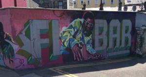 Galway street art.