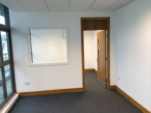 """Breakout room completed. Currently taking suggestions for naming the 2 new conference rooms. Thinking of """"Springsteen"""" and """"Tweedy"""", feel free to add suggestions below."""