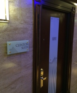 Maybe next time I'll gain access to the Presidential Suite.